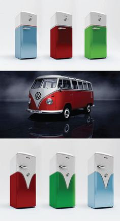 Frigo retro vw