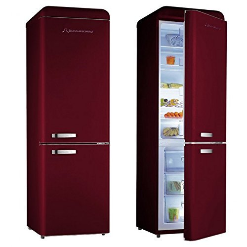 Réfrigérateur vintage rouge