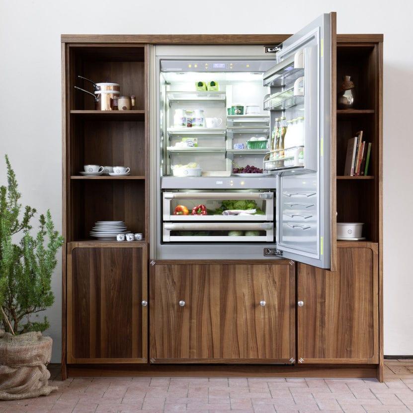 Refrigerateur encastrable inox