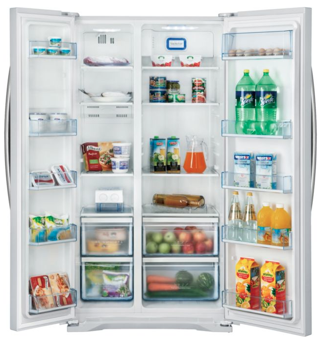 Frigo congelateur grande capacité