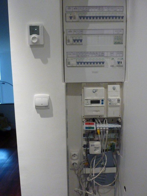 Tableau electrique garage rt 2012