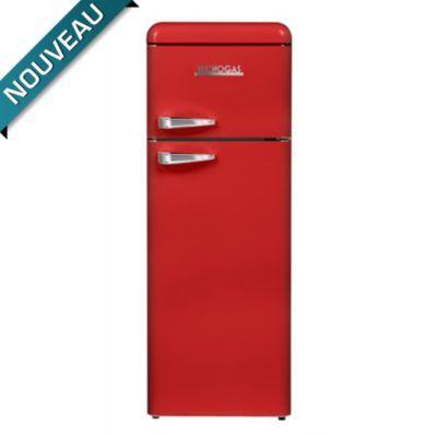 Réfrigérateur smeg gris métal