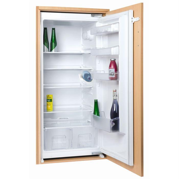 Réfrigérateur encastrable ouverture gauche