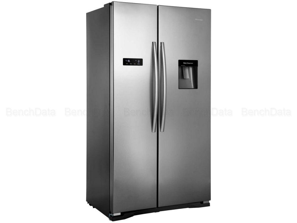 Réfrigerateur américain 556 litres hisense rs723n4wc1