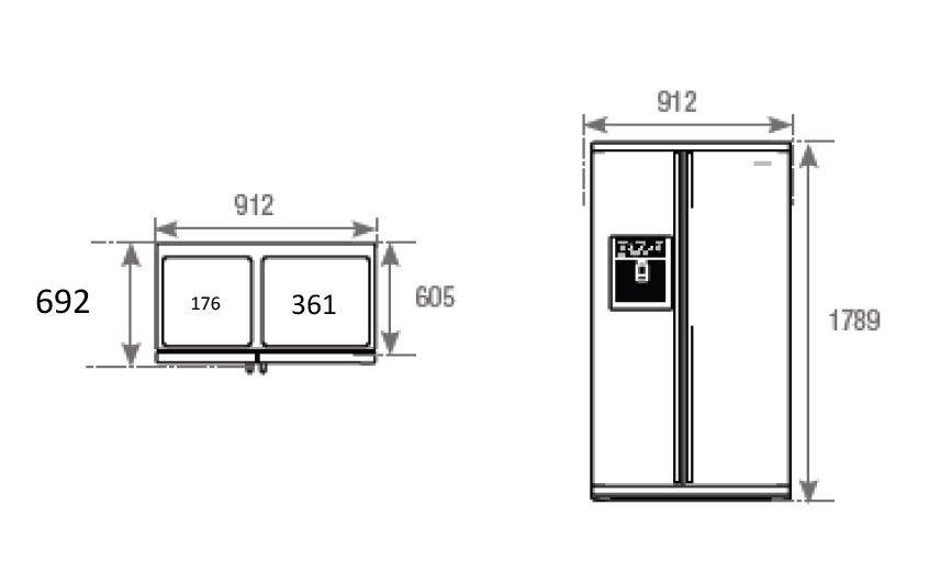 frigo americain 80 cm de largeur l 39 electronique la maison