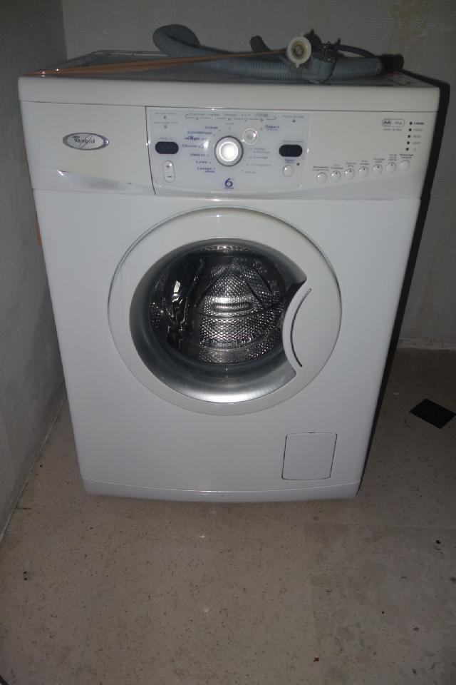 Bruit lave linge whirlpool