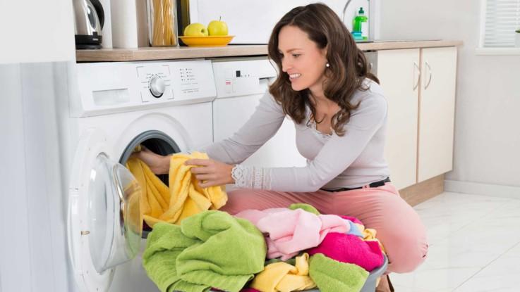 Boue dans lave linge