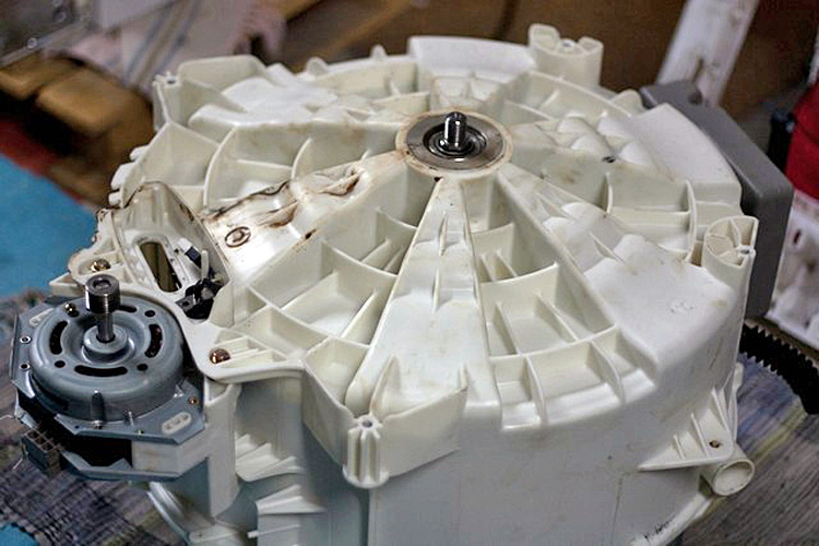 Remplacement roulement tambour lave linge electrolux