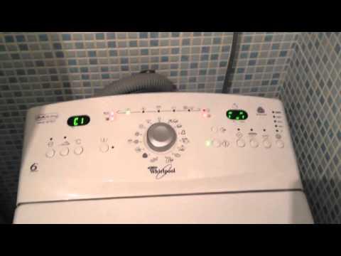 Lave linge whirlpool defaut f23