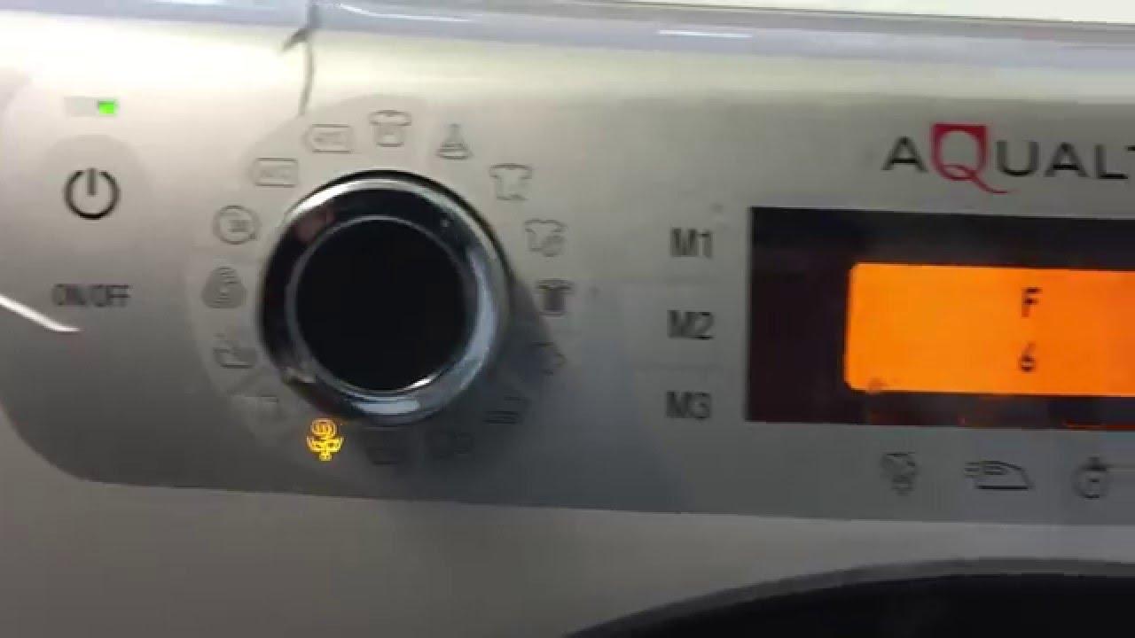 Code erreur f02 lave linge ariston