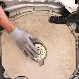 Comment changer amortisseur lave linge siemens